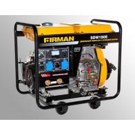 Дизельный генератор сварочник Firman SDW180E